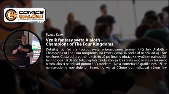 Prednáška: Vznik fantasy sveta Alaloth