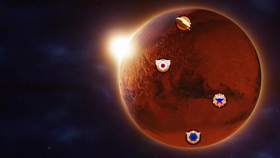 Surviving Mars: Space Race je vonku