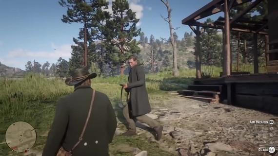 Red Dead Redemption 2 - zábavné hlášky