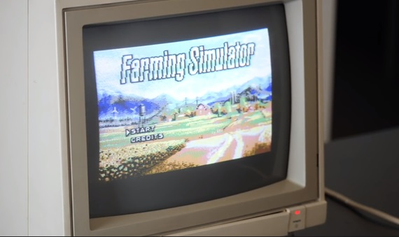 Farming Simulator  ponúka prvý pohľad na C64 verziu