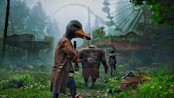 Mutant Year Zero ukazuje hranie zo Scraplands zóny