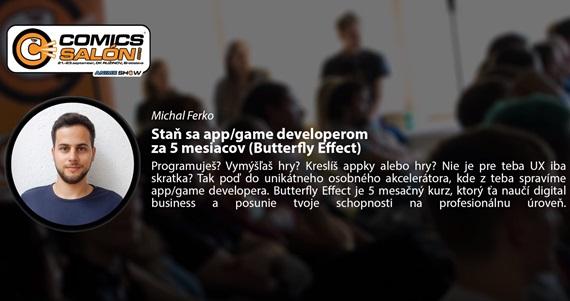 Prednáška: Staň sa app/game developerom za 5 mesiacov