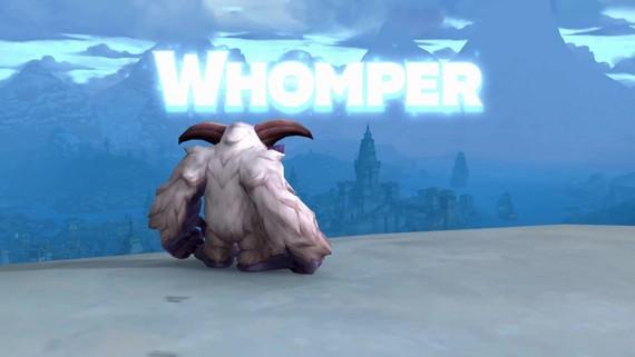 World of Warcraft dostal nové zvieratko Whompera