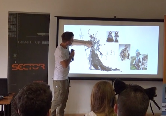Prednáška: Návrh postavy pre  počítačovú hru