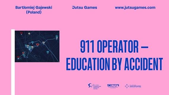 Prednáška: 911 Operator – (Po)učenie z nehody