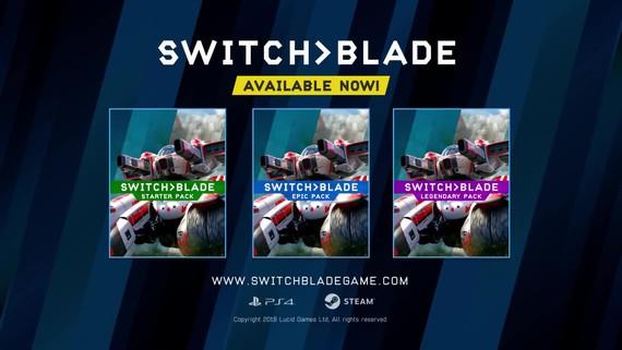 Switchblade predstavuje svoje balíky