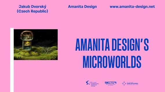 Prednáška: Mikrosvety od Amanita Design