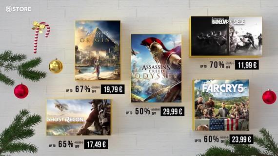 Ubisoft store rozbieha vianočný výpredaj