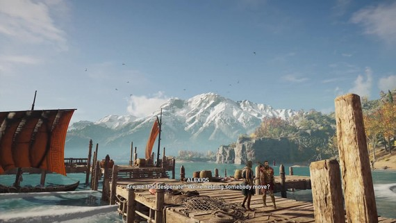 Assassin's Creed Odyssey: Legacy of the First Blade ukazuje hrateľnosť