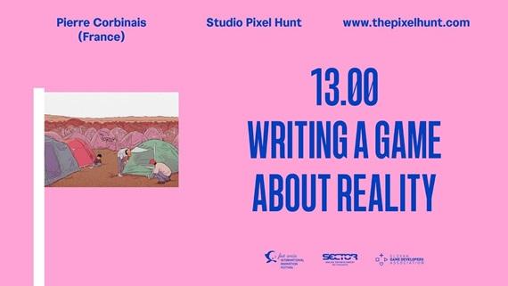 Prednáška: Písanie hry o realite