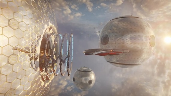 3DMark Port Royal raytracing benchmark zachytený na videu