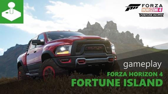 Forza Horizon 4: Fortune Island - gameplay ukážka