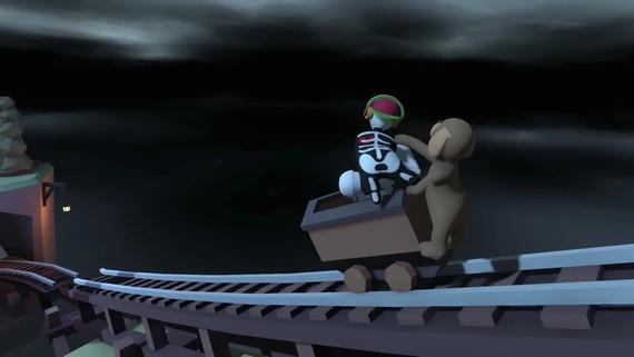 Human: Fall Flat dostal zadarmo nový, temný level