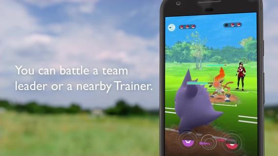 Pokémon Go predstavuje boje trénerov