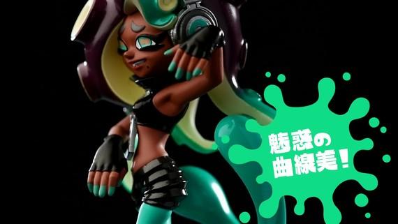Pearl and Marina amiibo