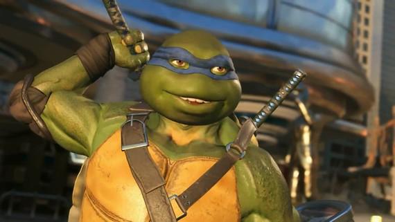 Injustice 2 - Ninja Turtles Gameplay trailer