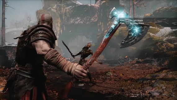 God of War - gameplay