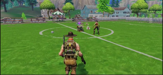 Fortnite Battle Royale mobile - teaser