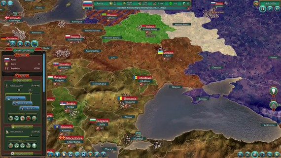 Realpolitiks: New Power DLC - Gameplay Trailer