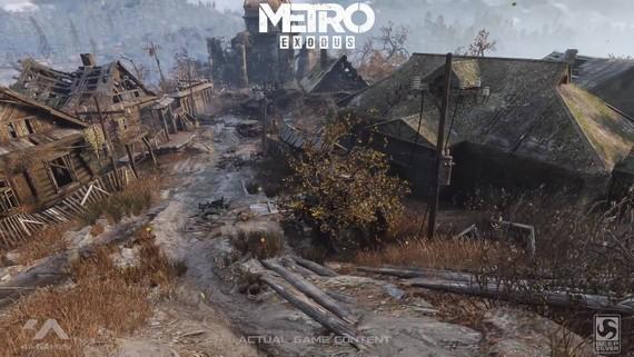 Metro Exodus - Nvidia RTX raytracing ukážka