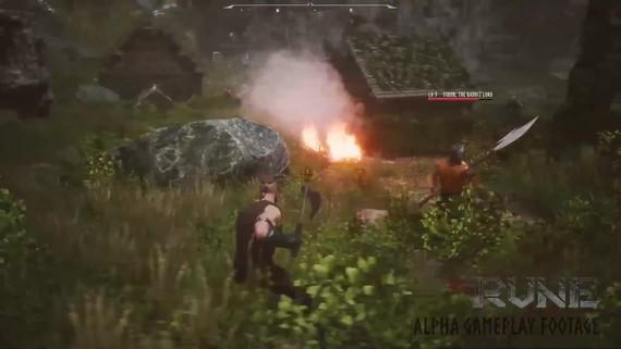 Rune - demo gameplay