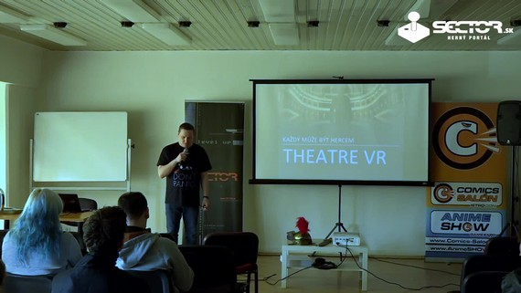 GameDev: Theatre VR - hercem ve virtuální realitě