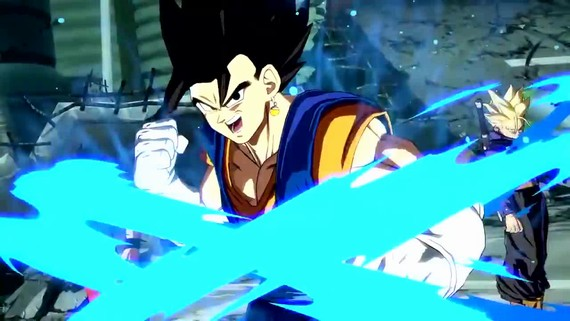 Dragon Ball FighterZ - SSGSS Vegito Gameplay Trailer