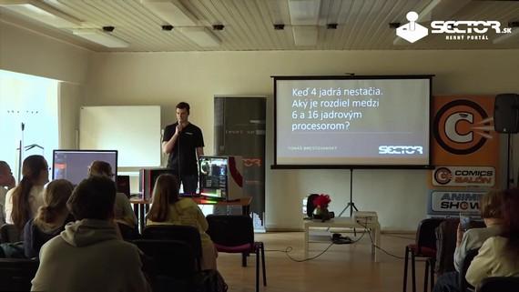 GameDev: Aký je rozdiel medzi 6 a 16 jadrovým procesorom?