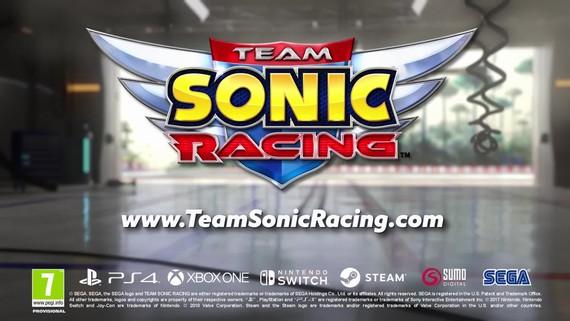 Team Sonic Racing - oznámenie