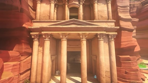 Overwatch - Petra Deathmatch Map