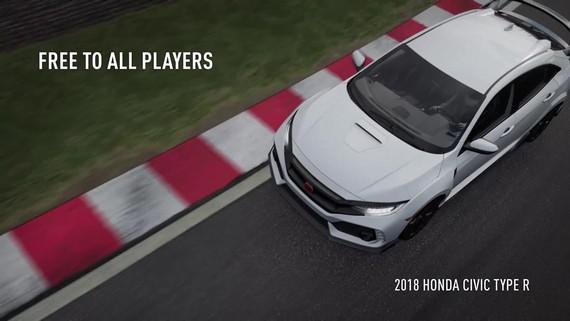 Forza Motorsport 7 - 2018 Honda Civic Type R - trailer