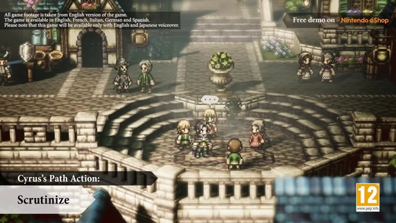 Octopath Traveler - Paths of Ritual and Research