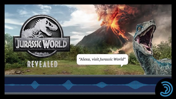 Jurassic World Revealed - Audio Trailer