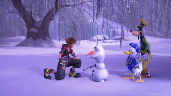 Kingdom Hearts 3 - E3 Frozen Trailer