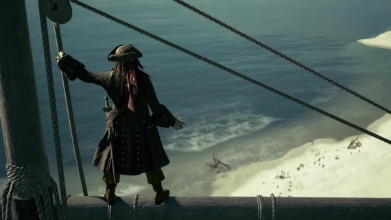 Kingdom Hearts 3 - Pirates of the Caribbean E3 trailer