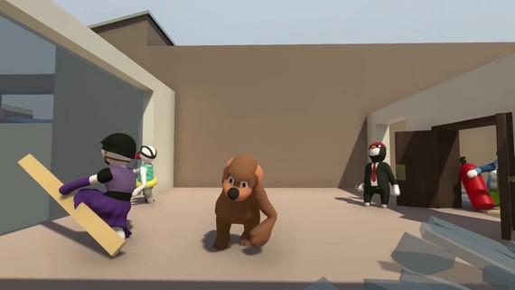 Human: Fall Flat - konzolový multiplayer