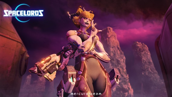 Spacelords je free 2 play relaunch multiplayerovky Raiders of the Broken Planet