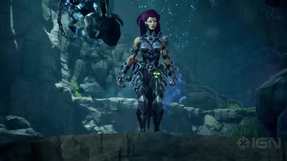 Darksiders 3 - Wrath Boss fight