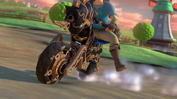 Mario Kart 8 Deluxe - The Legend of Zelda: Breath of the Wild update