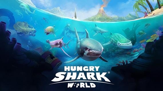 Hungry Shark World vychádza na konzolách