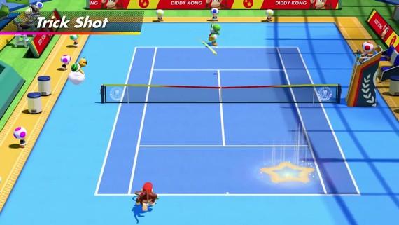 Mario Tennis Aces - Diddy Kong v akcii