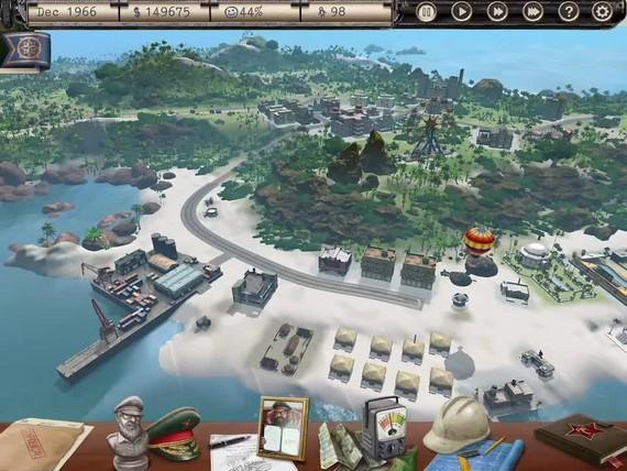 Tropico - iPad gameplay