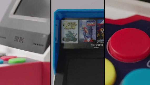NeoGeo opäť predvádza svoj mini automat NeoGeo Mini