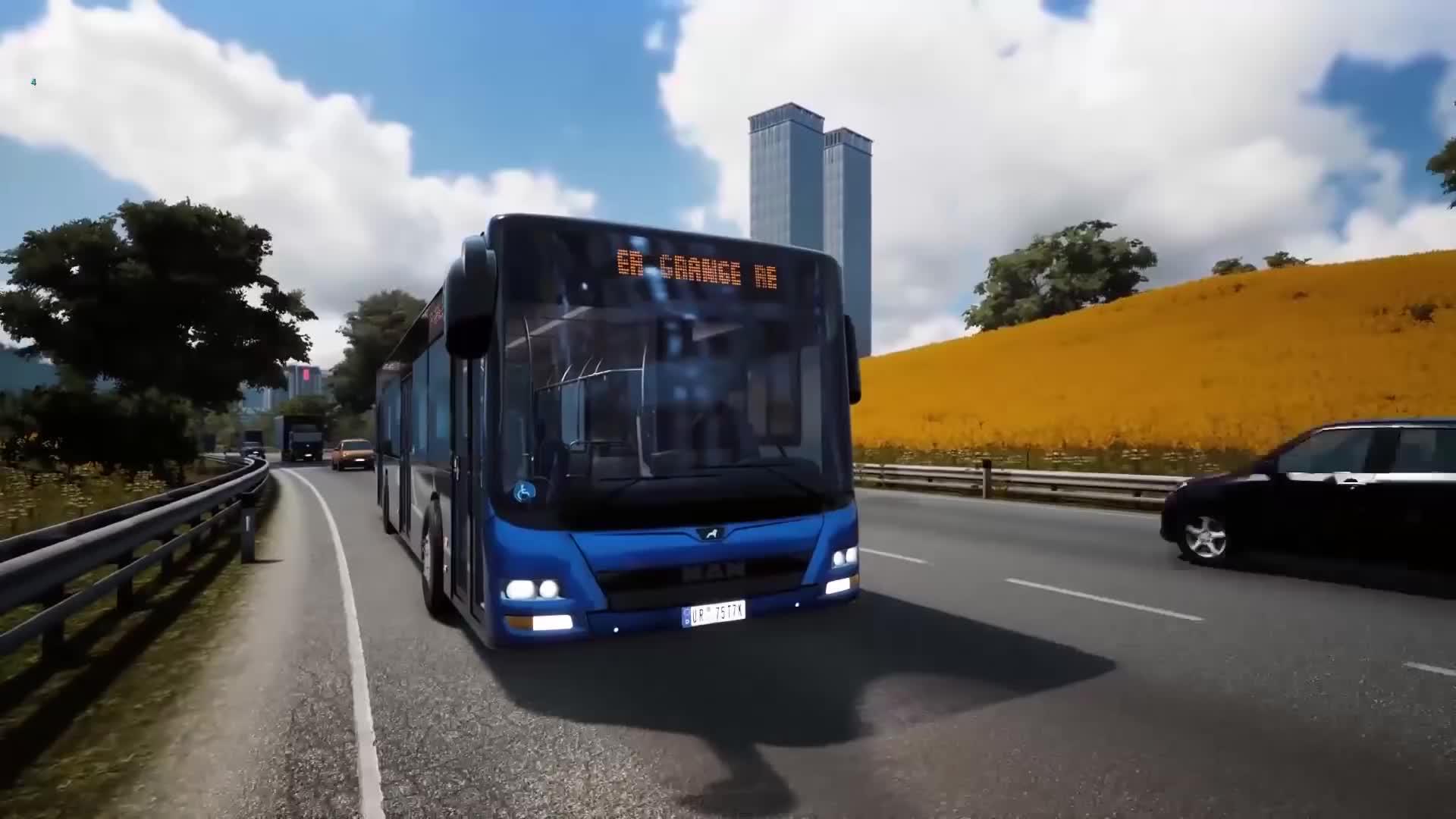 bus simulator prich dza na konzoly hern video sector. Black Bedroom Furniture Sets. Home Design Ideas