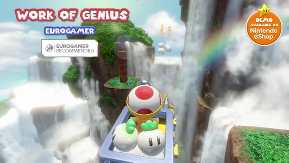 Captain Toad: Treasure Tracker – Accolades trailer