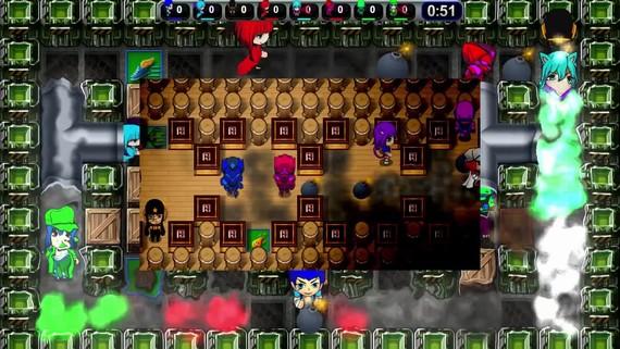 Splody kopíruje Bombermana a zahrať si ho môžete už aj na PS4
