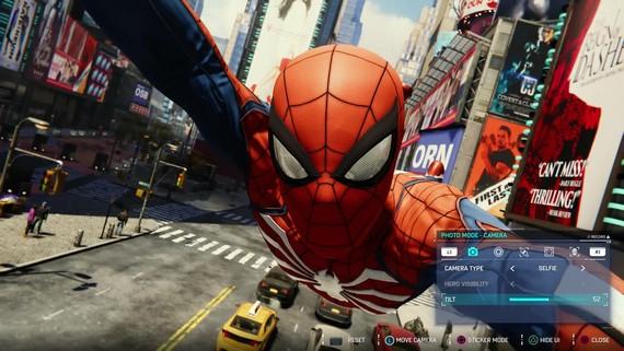 Spiderman predstavuje fotomód