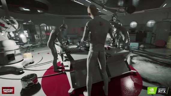 Atomic Heart - Geforce RTX video