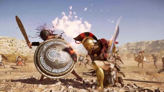 Assassin's Creed Odyssey ukazuje možnosti v bojoch