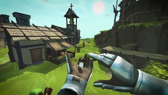 Townsmen VR sa predstavil na Gamescome